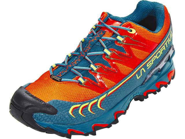 La Sportiva Ultra Raptor GTX - Zapatillas running Hombre - naranja/azul